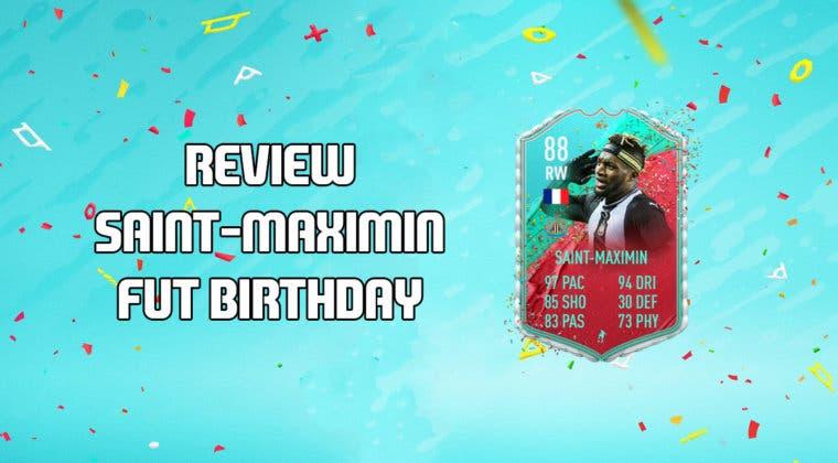 Imagen de FIFA 20: Review de Saint-Maximin FUT Birthday