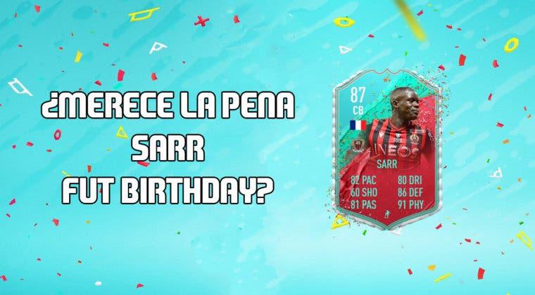 Imagen de FIFA 20: ¿Merece la pena Sarr FUT Birthday? + Solución de su SBC