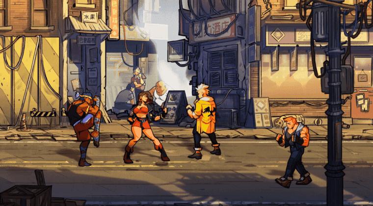 Imagen de Streets of Rage 4 revela su fecha de lanzamiento y su nuevo modo competitivo con un tráiler