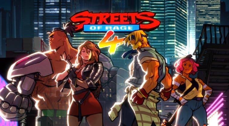 Imagen de Avance se encargará de distribuir las ediciones físicas de Streets of Rage 4 en España