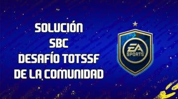 Imagen de FIFA 20: solución al SBC 'Desafío TOTSSF de la Comunidad'