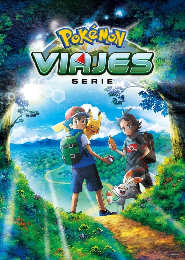 Anime de Pokémon Viajes Pokémon póster