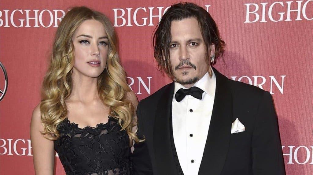 Amber Heard y Johnny Depp