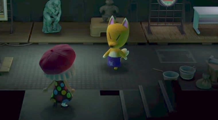 Imagen de Animal Crossing: New Horizons - Cómo atraer a Ladino (comerciante de arte) a tu isla y visitar su tienda