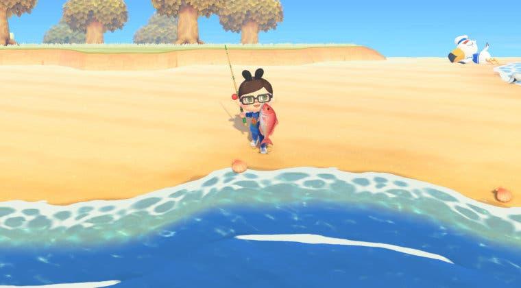 Imagen de Animal Crossing: New Horizons - Todos los peces que podrás pescar en abril (con lugar y hora)