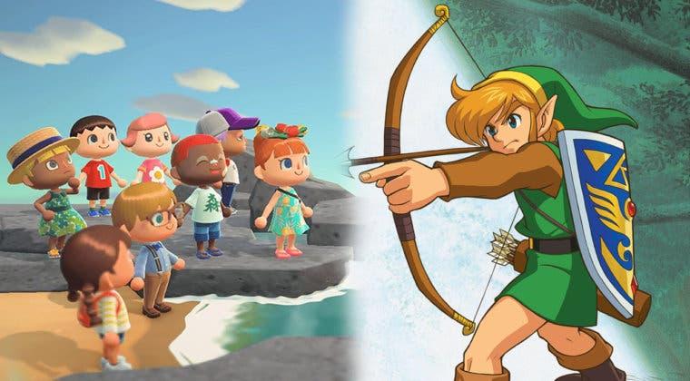 Imagen de Un fan recrea Hyrule en Animal Crossing: New Horizons
