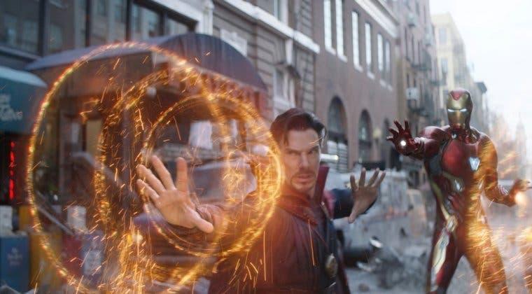 Imagen de Vengadores: Infinity War - La curiosa imagen de Doctor Strange vestido de Iron Man
