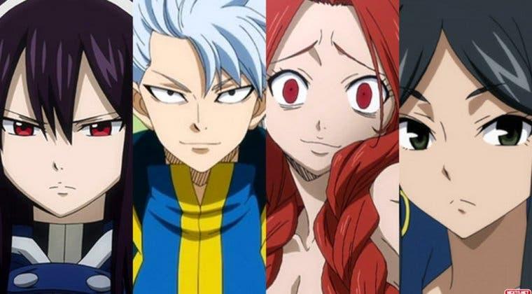 Imagen de Gust presenta nuevos personajes invitados no controlables para Fairy Tail