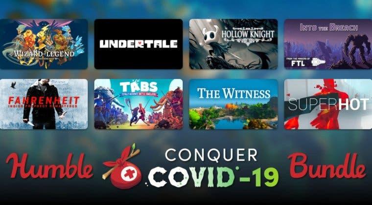 Imagen de Humble Conquer COVID-19 Bundle ya está activo con muchos juegos para luchar contra la pandemia