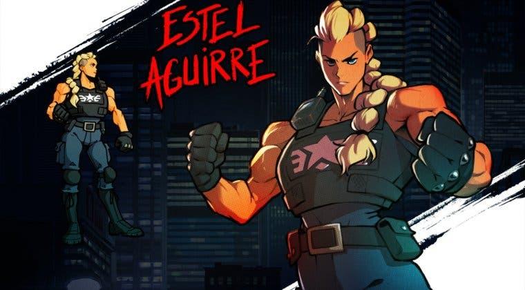 Imagen de Streets of Rage 4 presenta a la imponente Estel Aguirre