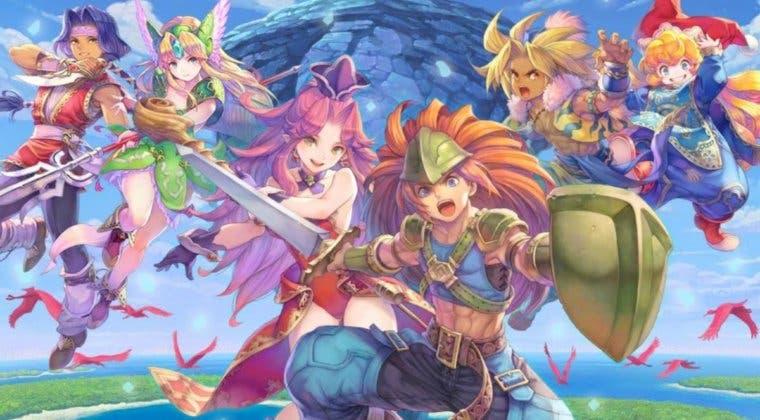 Imagen de Trials of Mana celebra su lanzamiento con un nuevo tráiler