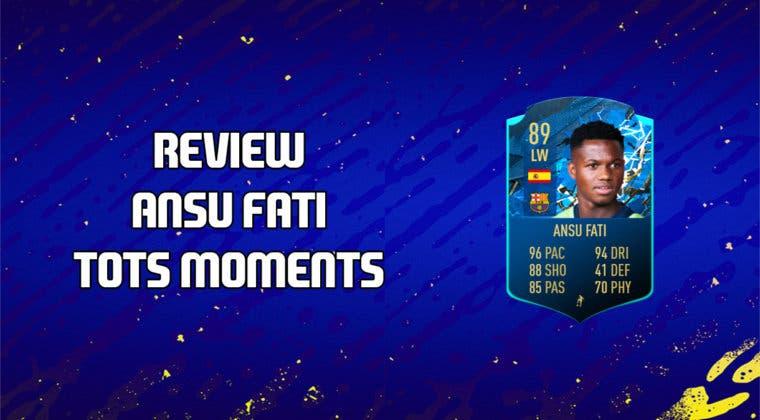 Imagen de FIFA 20: review de Ansu Fati TOTS Moments