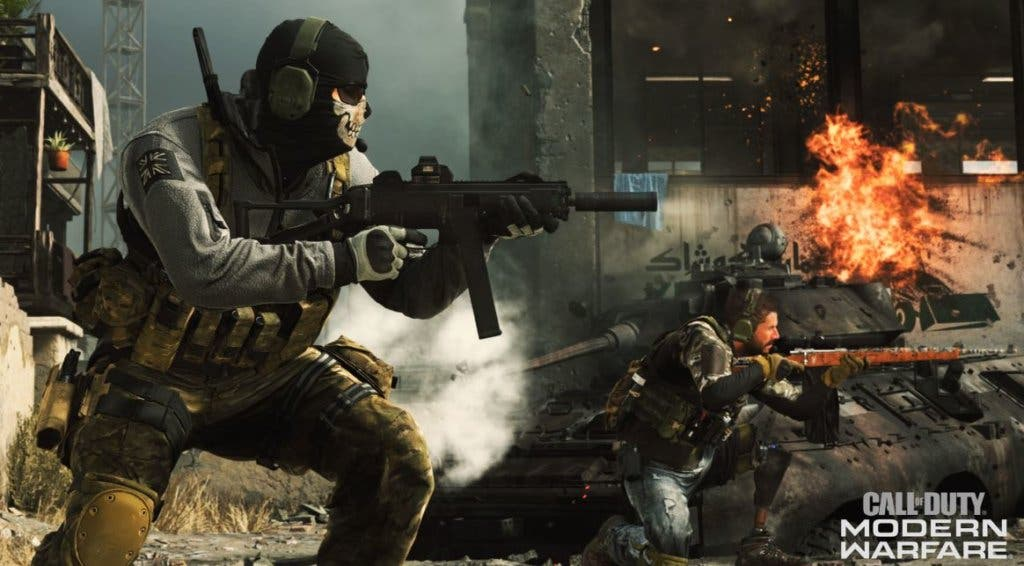 Call of Duty Modern Warfare y Warzone Ghost