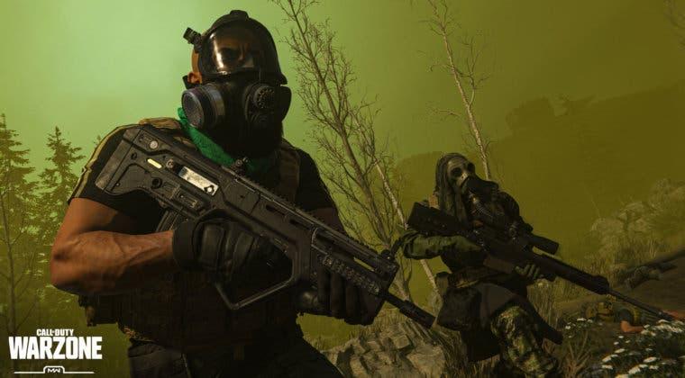 Imagen de Call of Duty: Warzone acabará con el bug de la máscara de gas infinita