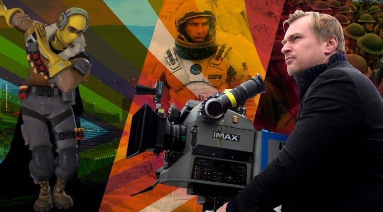 Imagen de Fortnite nos permitirá ver una película completa de Nolan desde dentro del juego