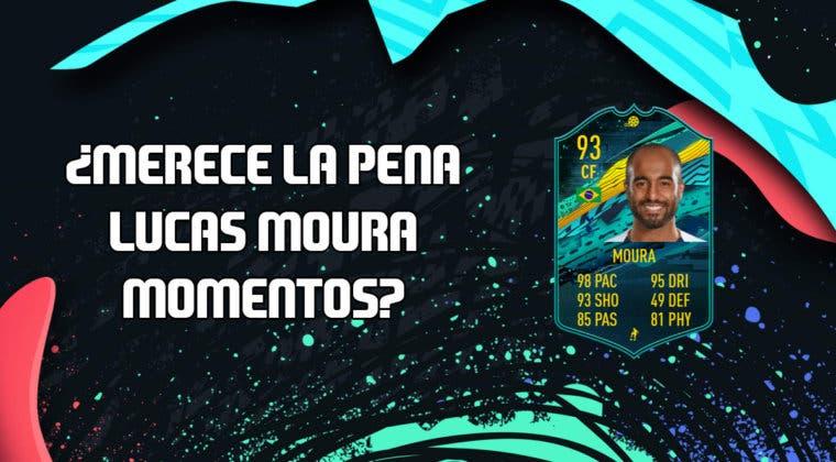 Imagen de FIFA 20: ¿Merece la pena Lucas Moura Momentos? + Solución de su SBC