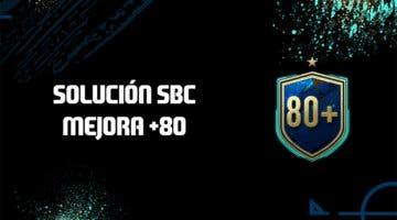 Imagen de FIFA 20: Solución al SBC 'Mejora de 80 o +'