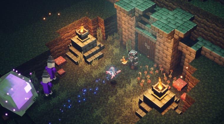 Imagen de Así es el guiño que Minecraft Dungeons esconde sobre Diablo