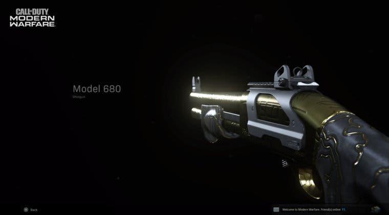 Imagen de Guía para conseguir fácilmente el camuflaje oro en escopetas y cuchillos en Modern Warfare