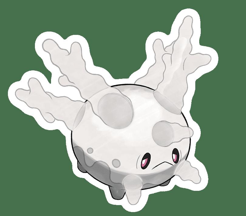 Pokémon Espada y Escudo Corsola de Galar