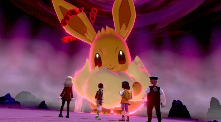 Imagen de Las Incursiones de Pokémon Espada y Escudo reciben a Eevee Gigamax