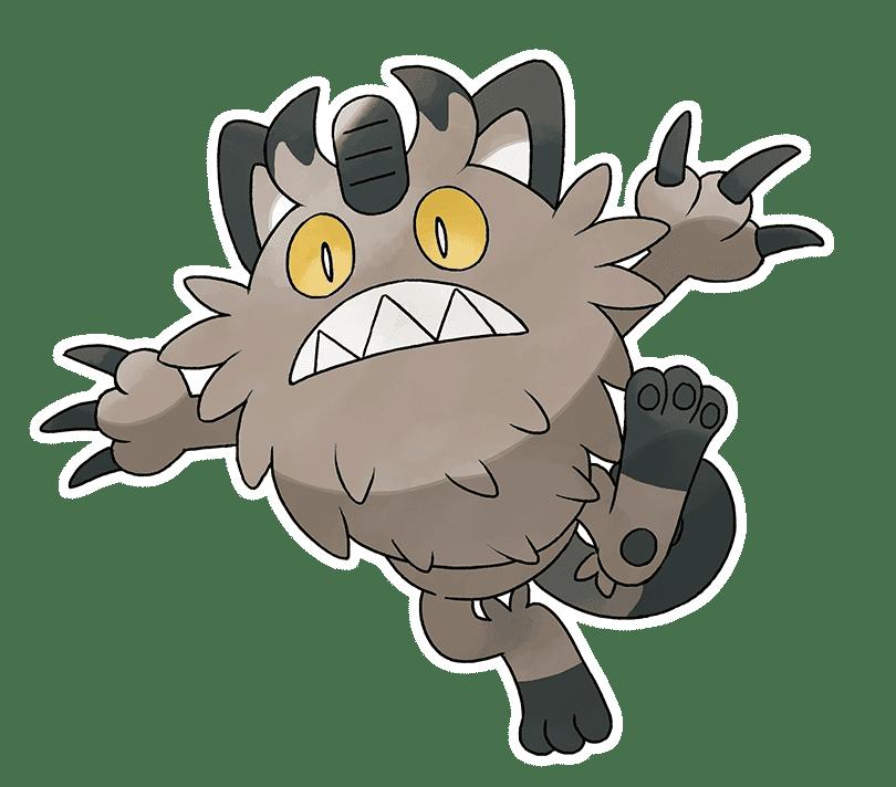 Pokémon Espada y Escudo Meowth de Galar