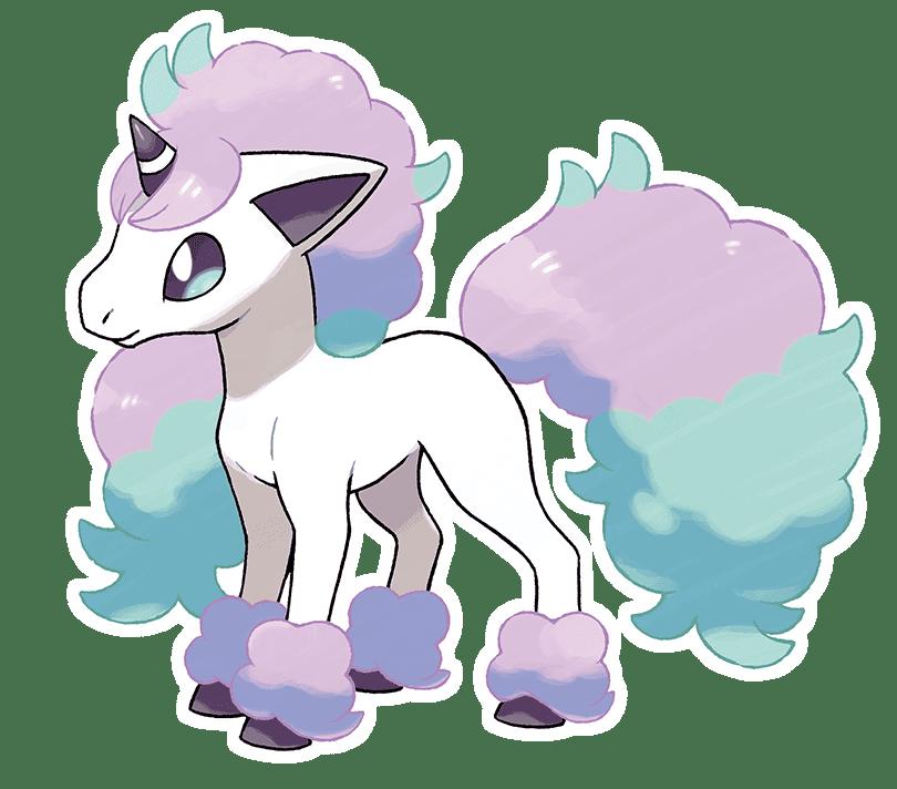 Pokémon Espada y Escudo Ponyta de Galar