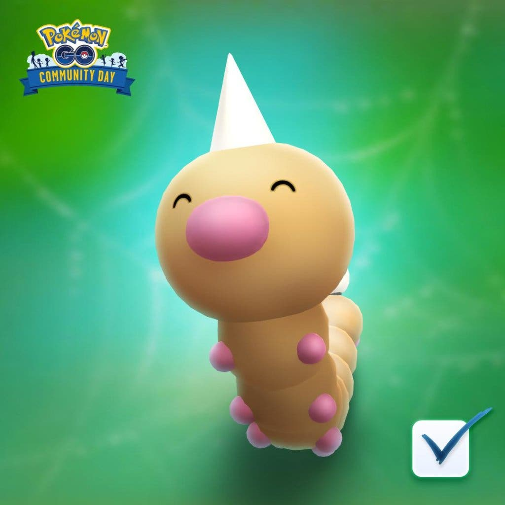 Pokémon GO Weedle