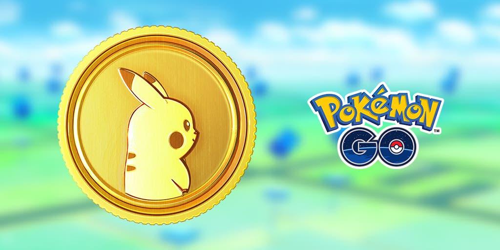 Pokémoneda Pokémon GO logo