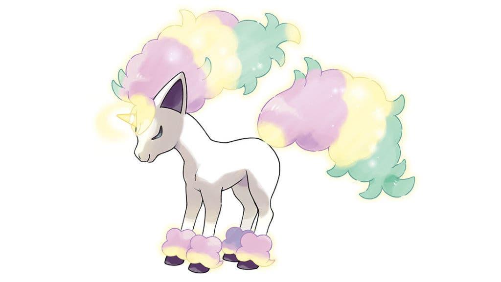 Ponyta de Galar Pokémon Espada y Escudo