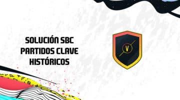 Imagen de FIFA 20: Solución al SBC 'Partidos clave históricos'