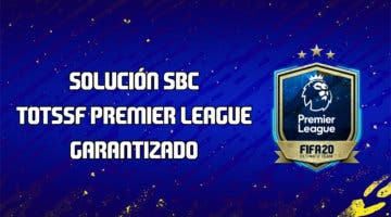 Imagen de FIFA 20: solución al SBC que nos garantiza un TOTS de la Premier League