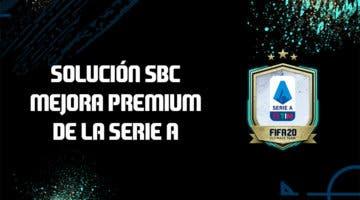 Imagen de FIFA 20: Solución al SBC 'Mejora premium Serie A'