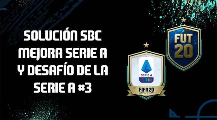 Imagen de FIFA 20: Solución a los SBC's 'Mejora de la Serie A' y 'Desafío de la Serie A' #3