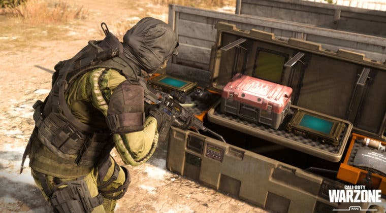 Imagen de El UAV de respuesta podría llegar a las estaciones de compra de Warzone