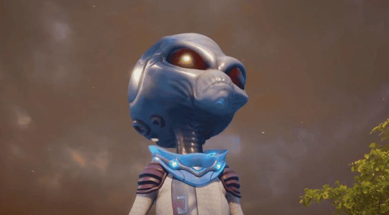 Imagen de Destroy All Humans! muestra una misión completamente nueva en un tráiler
