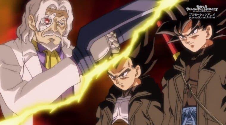 Imagen de Dragon Ball Heroes luce título y resumen del episodio 24