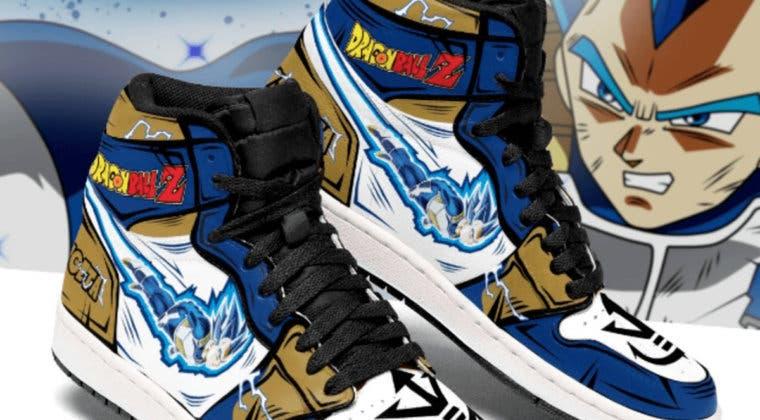 Imagen de Así son las zapatillas Dragon Ball Jordan que querrás comprar