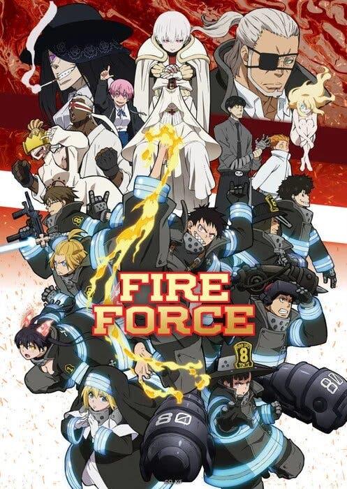 fire force 2 temporadfa 2