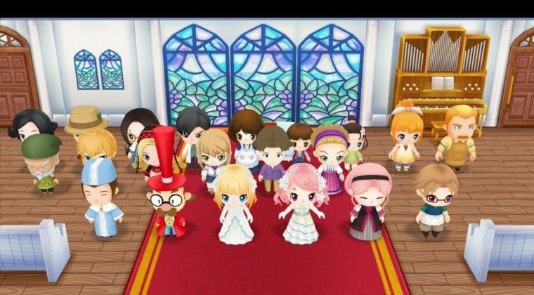 Imagen de Story of Seasons: Friends of Mineral Town permitirá matrimonios del mismo sexo en su versión occidental