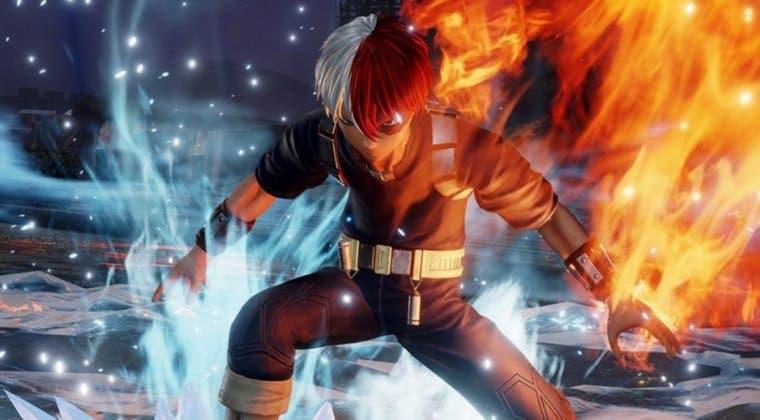 Imagen de El DLC de Jump Force que suma a Shoto Todoroki llegará en los próximos días