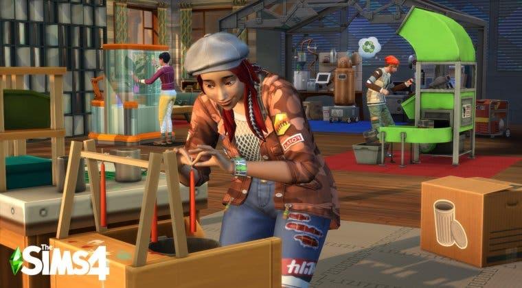 Imagen de Los Sims 4: Vida Ecológica se muestra en un nuevo gameplay