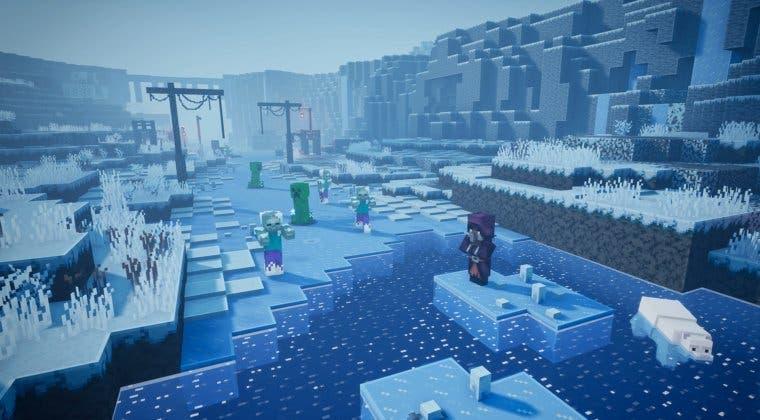 Imagen de Se filtran los dos DLC que llegarán a Minecraft Dungeons