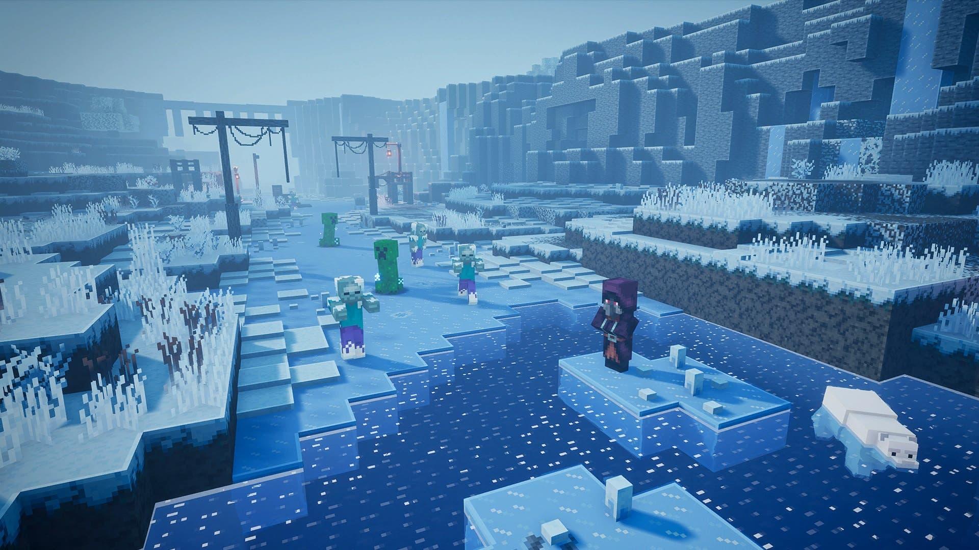 Se filtran los dos DLC que llegarán a Minecraft Dungeons