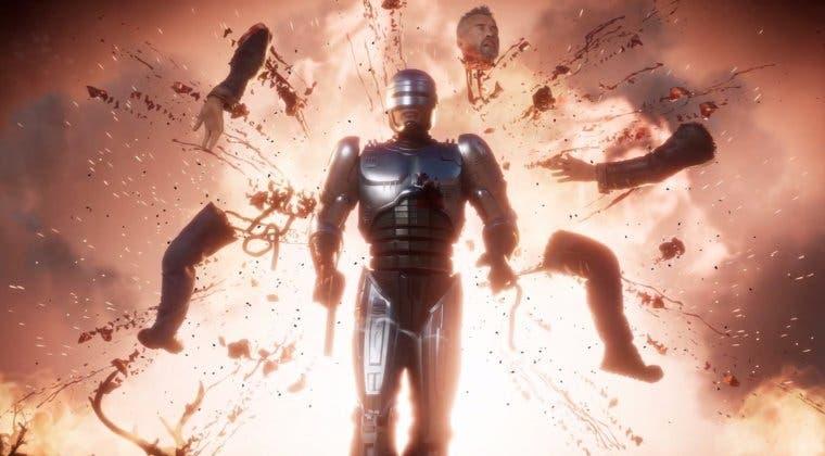 Imagen de Mortal Kombat 11: Aftermath muestra gameplay de Robocop y Terminator