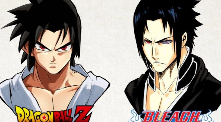 Imagen de Sasuke (Naruto) en 9 animes diferentes: Bleach, One Piece y más