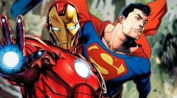 Imagen de Superman destroza a Iron Man en este increíble Fan Art