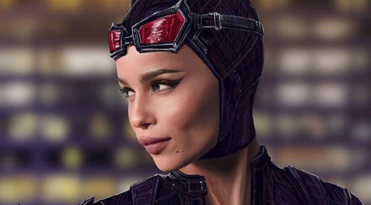 Imagen de Zoe Kravitz ama su traje de Catwoman para The Batman