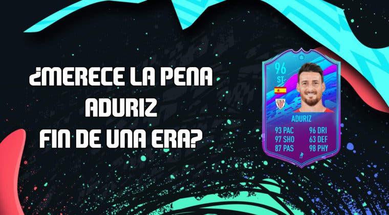Imagen de FIFA 20: ¿Merece la pena Aritz Aduriz Fin de Una Era? + Solución de su SBC