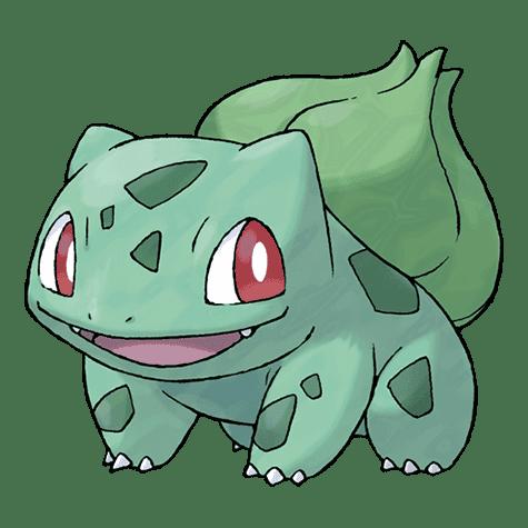 Bulbasaur Pokémon inicial